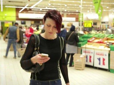 Diebold quiere sustituir a las cajeras del super con nuestros móviles