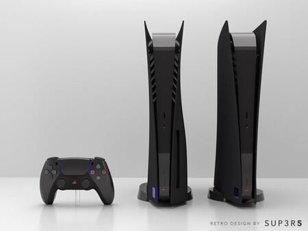 Esta PS5 negra con aspecto retro inspirada en la legendaria PS2 será extremadamente limitada y solo unos pocos se harán con ella