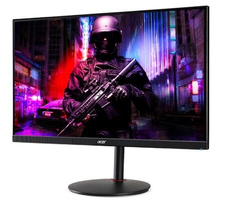 ACER presenta el XV282K KV: este monitor IPS llega con HDMI 2.1, resolución 4K y refresco de 144 Hz