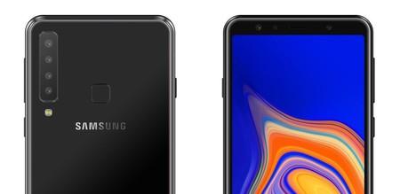 Galaxy A9 Star Pro: Samsung estaría preparando un smartphone con cuatro cámaras traseras y así se vería