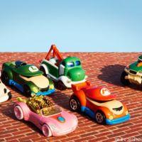 Hot Wheels lanza al mercado su segunda edición de carros inspirados en los personajes de Mario Bros.