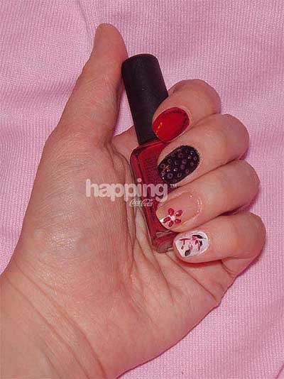 Cómo usar alfileres para decorar tus uñas