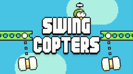 Swing Copters, el sucesor de Flappy Bird ya disponible para Android