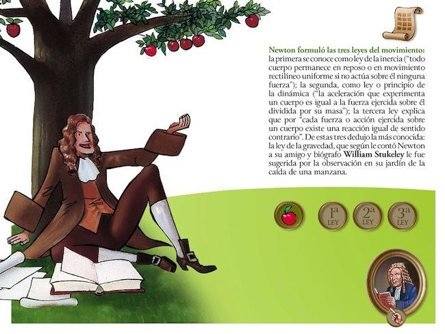 Isaac Newton App Manzana