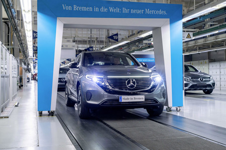 El Mercedes-Benz EQC arranca su producción: otro coche eléctrico que ya está listo para salir al mercado