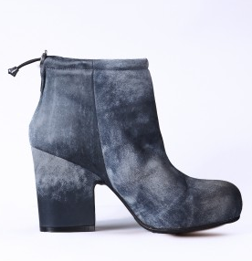 tyedie denim acne boots