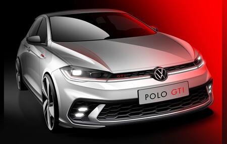 El nuevo Volkswagen Polo GTI se asoma en sus primeros bocetos, llegará en junio y apunta a Golf GTI en frasco pequeño