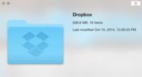 Dropbox se prepara para OS X Yosemite y lanza una actualización experimental