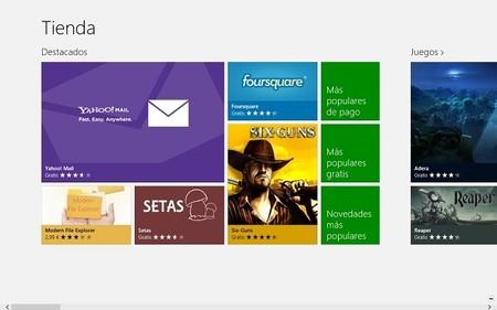 Cuatro aplicaciones para hacer compras en Windows 8