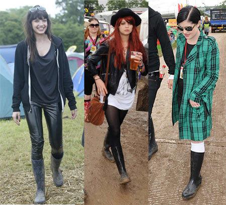 El estilo de Glastonbury 2008