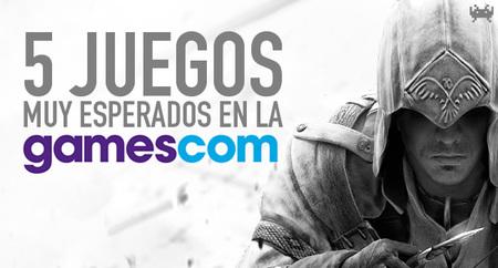 Los cinco juegos más esperados de la Gamescom 2012