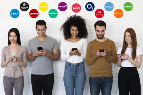 Las nuevas tarifas móviles de Amena y Simyo comparadas con Lowi, O2, Pepephone, Digi y otros operadores baratos