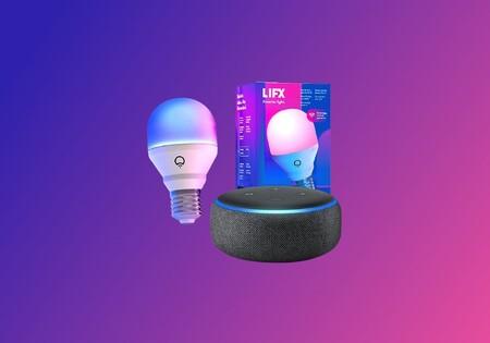 Este pack de domótica arrasa en ventas en Amazon: Echo Dot y la bombilla conectada de color de LIFX a menos de 30 euros