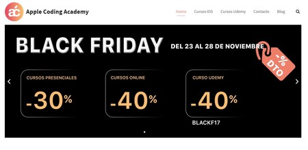 Black Friday Apple Coding Academy