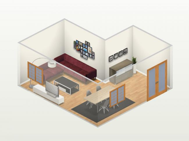 C mo puedo distribuir los muebles de mi sal n decoesfera - Como decorar un salon en forma de l ...