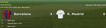 SEGA apuesta por un Barça 3 - 0 Real Madrid para esta noche
