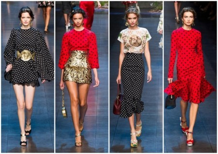 tendencias pv 2014 lunares dolce and gabanna