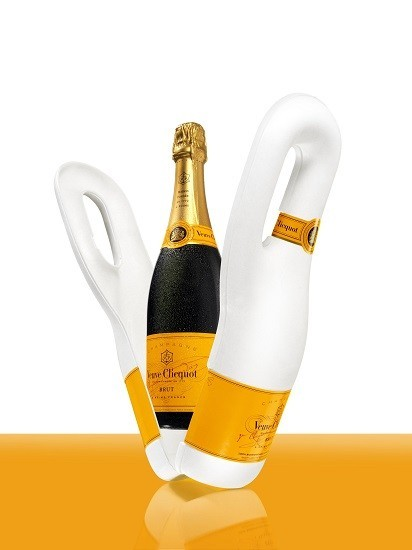 Veuve Clicquot Naturally, el envase isotérmico y 100% biodegradable para transportar champagne
