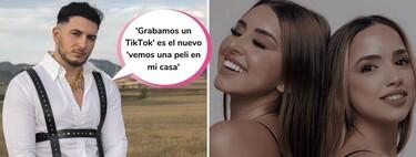 ¿Qué hace Omar Montes con Lucía y Marina, de 'La Isla de las Tentaciones'? Invitarlas a bailar (y con muy poquitas ganas)