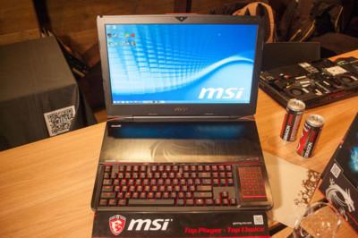 MSI GT80 'Titan': si alguna vez soñaste con tener un teclado mecánico en un portátil gaming