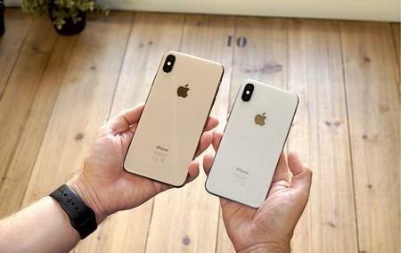iPhone XS max trasera
