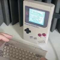 Aparece un teclado para Game Boy que nunca llegó a venderse: convertía la consola en toda una suite de productividad para la época