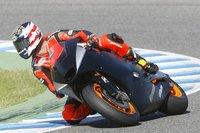 Primera jornada de entrenamientos privados en Jerez de MotoGP y Moto2