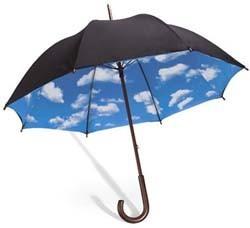 Paraguas optimista