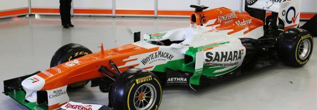 Force India Paul di Resta 2013