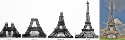¡Feliz 126 cumpleaños Torre Eiffel!
