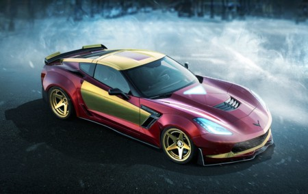 El Chevrolet Corvette Z06 de Iron Man