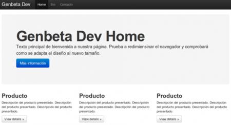 Diseñando con Bootstrap 2.0, screencast de LungoJS y Apache 2.4, repaso por Genbeta Dev