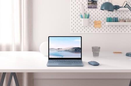 Microsoft Surface Laptop Go: más compacto, más modesto, pero muy bien plantado como equipo para trabajar y estudiar en remoto