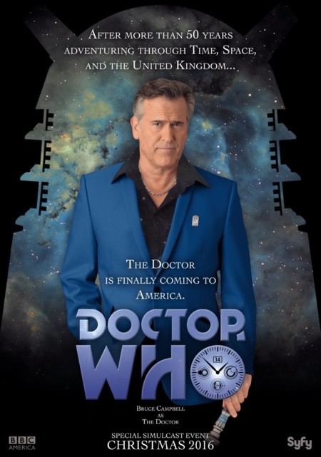 Doctor Who Bruce Campbell