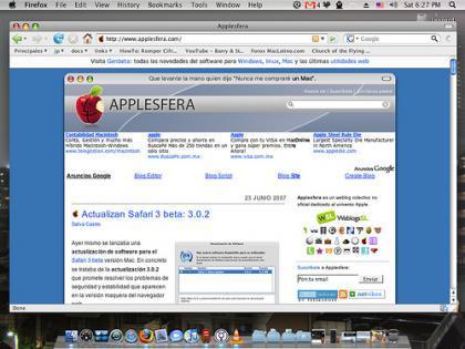 Más imágenes desde la versión de Leopard presentada en la WWDC'07