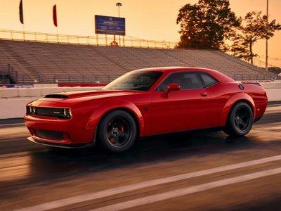 Dodge Challenger Demon, primera imagen oficial y todos los detalles previos a su presentación