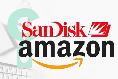 Tarjetas de memoria, discos duros o pendrives SanDisk a precios rebajados en Amazon