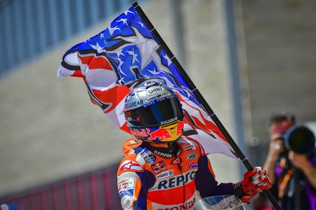 Marc Marquez Gp Americas 2018