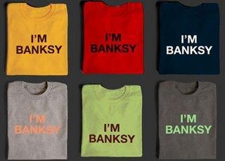 Camiseta I'm Banksy