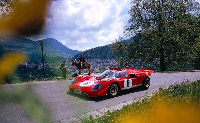 Nino Vaccarella Ferrari 512S Targa Florio