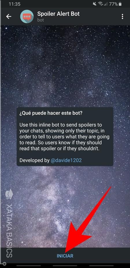 Spoiler Alert Bot