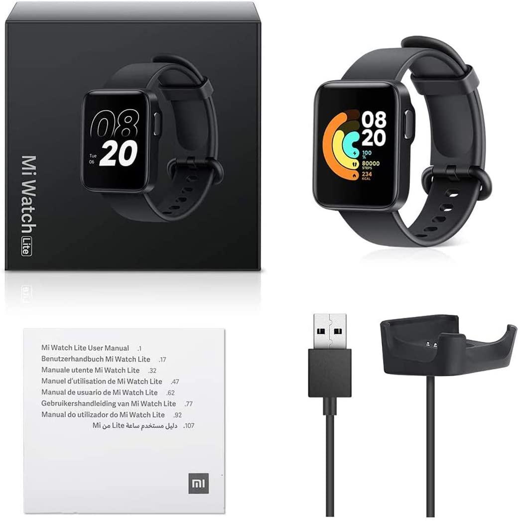 Smartmi Watch Bluetooth Fitness Tracker 50m Rastreador de ejercicio impermeable Monitor de sueño, monitor de frecuencia cardiaca, control de voz