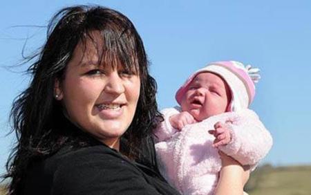 Una mujer se entera de que está embarazada tres horas antes de parir