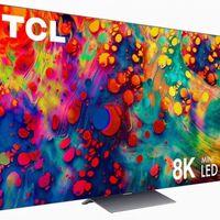 TCL ya tiene su primer televisor mini LED: 8K, Roku TV e Inteligencia Artificial para escalar contenido desde 4K