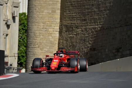 ¡Tremendo! Charles Leclerc consigue su segunda pole position consecutiva en una caótica clasificación en Bakú