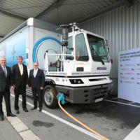 BMW y SCHERM ya tienen listo y funcionando el primer camión 100% eléctrico