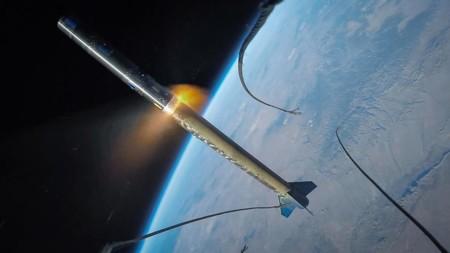 Una GoPro en un cohete es una de las mejores formas de admirar el espacio