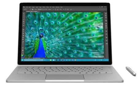 Surface Book Pavo Real