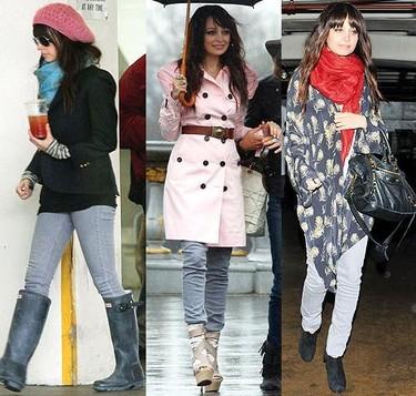 Una misma prenda, diferentes looks: jeans pitillo grises para esta primavera-verano 2010