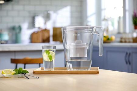 Las jarras con filtro para beber agua del grifo sin notar mal sabor mejor valoradas en Amazon